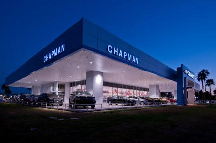 Johnson Carlier completes the Chevrolet dealer-image upgrade program at Chapman Chevrolet in Tempe.